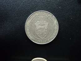 TUNISIE : 1/2 DINAR  1997 - 1418   KM 346 *    SUP - Tunisie