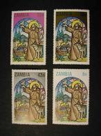 ZAMBIA 1980 - NAVIDAD - NOEL - CHRISTMAS - YVERT Nº 225/228** - Zambie (1965-...)
