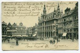 CPA - Carte Postale - Belgique - Bruxelles - La Grand Place - 1905 (SV6644) - Marktpleinen, Pleinen