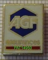 BANQUE ASSURANCE  AGF ASSURANCES  En Version ZAMAC SOFREC - Banques