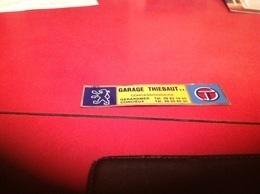 Autocollant Publicité Publicitaires Peugeot Garage Corcieux - Stickers