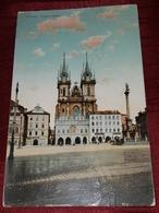 PRAHA, PRAGUE 1912.- TÝNSKÝ CHRÁM - Tchéquie