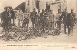 Dépt 77 - CHAUCONIN-NEUFMONTIERS - Soldats Français Affublés De Casques Allemands à Neufmontiers - ELD - France