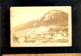 Photographie Cabinet : MODANE Savoie La Ville Et L'Arc  C. 1880 - Luoghi