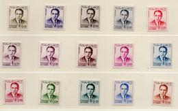 1962/65 - MAROCCO - MAROC - Yv:  Nr. 435/444 - NH - (UP121.18) - Marocco (1956-...)