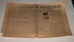 La Marseillaise Du Centre Du 3 Novembre 1944.(Tulle-Petiot Arrèté à Paris) - Magazines & Papers