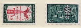 1962 - MAROCCO - MAROC - Yv:  Nr. 446/447 - NH - (UP121.18) - Marocco (1956-...)