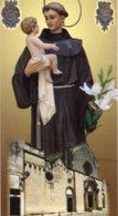 Galatina - Santino SANT'ANTONIO DI PADOVA Basilica Di Santa Caterina D'Alessandria - PERFETTO P85 - Religione & Esoterismo