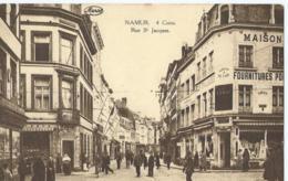 Namur - 4 Coins Rue St. Jacques - Edit. Grands Magasins De La Station - Marco Marcovici, Bruxelles - Namur