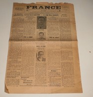 France Du 31 Décembre 1944.(Brive-Stalag IIA) - Magazines & Papers