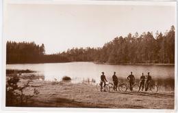 Latvia Germany 1931 Daugavpils Dvinsk Dunaburg, Soldier Soldiers Military, Bike Bicycle - Latvia