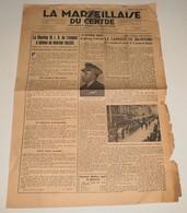La Marseillaise Du Centre Du 7 Octobre 1944.(Carnage De Brantôme) - Revues & Journaux