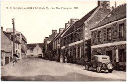 22 SAINT-MICHEL-en-GREVES - La Rue Principale - Saint-Michel-en-Grève