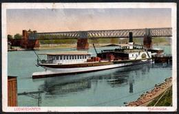 C0452 - Dampfer - Rheinschifffahrt Schifffahrt Schaufelraddampfer - Dampfer