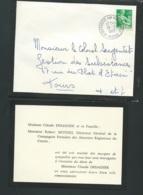 Aigurande ( Indre ) Remerciement En 1962 à L'occasion Du Décès De M Claude Desagher -  Lx0902 - Décès
