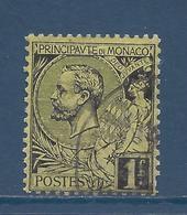 Monaco - YT N° 20 - Oblitéré - 1891 à 1894 - Monaco