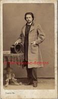 CDV Mode Second Empire-bel Homme -notable-photo Rosenthal à Amiens - Anciennes (Av. 1900)