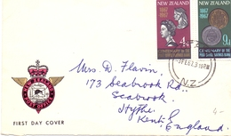 NEW ZELAND 1967 COVER FDC POST OFFICE MARKER   (DICE180089) - FDC