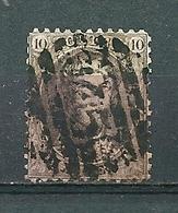 Nr 14 Gestempeld P 45 8 B GAND - Cote 5,50 + COBA 1,00 - 1863-1864 Médaillons (13/16)