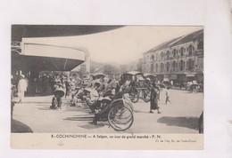 CPA COCHINCHINE, A SAIGON, UN JOUR DE GRAND MARCHE - Viêt-Nam