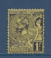 Monaco - YT N° 20 - Oblitéré - 1891 à 1894 - Gebruikt