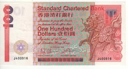 HONG KONG  $ 100  Standard Chartered Bank   P281a    Dated  1.1.1985 - Hong Kong