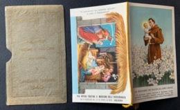 """Santino Holy Card """" S. ANTONIO DA PADOVA    """" Ed. GMI 41 - Religione & Esoterismo"""
