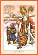 CP SAINT NICOLAS  Illustrateur Enfants St Nicolas Patron Des Lorrains Carte Vierge TBE - Saint-Nicholas Day