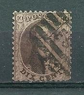 Nr 14 Gestempeld P EST - Cote 5,50 + COBA 10,00 - 1863-1864 Médaillons (13/16)