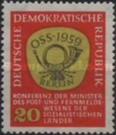 DDR - East European Post Conference -1959 - Norvège