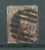 Nr 14 Gestempeld P OUEST - Cote 5,50 + COBA 8,00 - 1863-1864 Médaillons (13/16)
