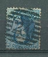 Nr 15 Gestempeld P 24 BRUXELLES - Cote 5,50 + COBA 1,00 - 1863-1864 Médaillons (13/16)
