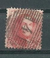 Nr 16 Gestempeld P 4 ANVERS - Cote 40,00 - 1863-1864 Médaillons (13/16)