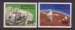 PAIRE NEUVE DE HAUTE-VOLTA - OPERATION VIKING SUR MARS N° Y&T PA 208/209 - Space