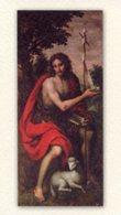 Isernia - Santino SAN GIOVANNI BATTISTA (Sec. XVIII) Biblioteca Comunale - PERFETTO P85 - Religione & Esoterismo