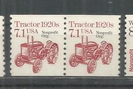 ESTADOS UNIDOS USA TRACTOR 1920S AGRICULTURA NONPROFIT ORG - Agricultura