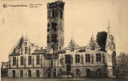 BELGIQUE - FLANDRE ORIENTALE - TERMONDE - DENDERMONDE - (Ruines) - Hôtel De Ville (Stadhuis). - Dendermonde