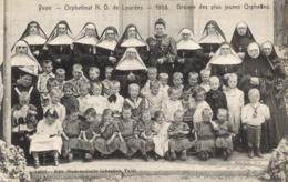 BELGIQUE - NAMUR - YVOIR - Orphelinat N. D. De Lourdes - 1908 - Groupe Des Plus Jeunes Orphelins. - Yvoir
