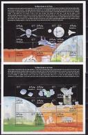 Maldives, 2000, Exploration Of Mars 2 Blocks - Space