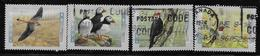 CANADA 1996,USED, # 1591-2,3-4,  BIRDS OF CANADA, Oiseaux Divers - 1952-.... Règne D'Elizabeth II