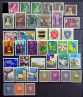 Liechtenstein 1951-1986 Unused/Mint & Used Selection . - Lotti/Collezioni