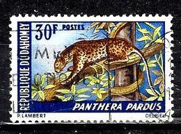DAHOMEY 268° 30f Animaux Panthère. (10% De La Cote + 015) - Benin - Dahomey (1960-...)
