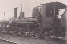 Carte Photo : Train Chemins De Fer Périgueux (24) Locomotive PO Midi 121.515   Rare Ph Vilain - Trains
