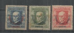 Czechoslovakia 11.05.1925 Mi # 209-11 International Olympic Congress In Prague - Juegos Olímpicos