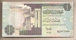 Libia - Banconota Circolata Da 1/2 Dinaro P-58c - 1991 - Libya