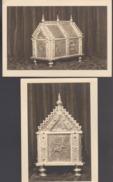 Fleurus La Chasse De L'Eglise Saint Victor (photos Véritables)(x2) - Fleurus