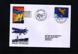 Schweiz - Switzerland 2001 Post Flight Olten - Aarau - Schweiz