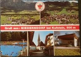 Ak Deutschland - Niederndorf Bei Kufstein - Ortsansichten - Kufstein