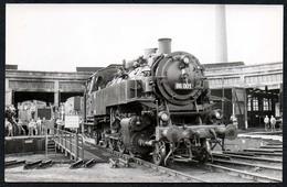 C0459 - TOP Foto - Eisenbahn Dampflok Lokschuppen - Eisenbahnen