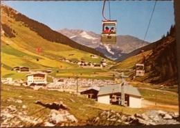 Ak Österreich - Hintertuxer Gletscherbahnen Mit Blick Auf Hintertux - Zillertal